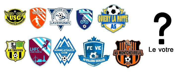 creation logo equipe de foot