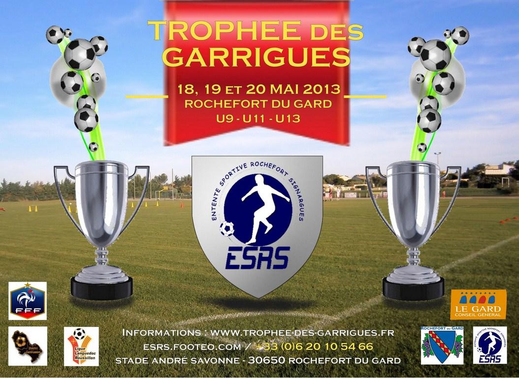 Flyer Trophée des Garrigues 2013