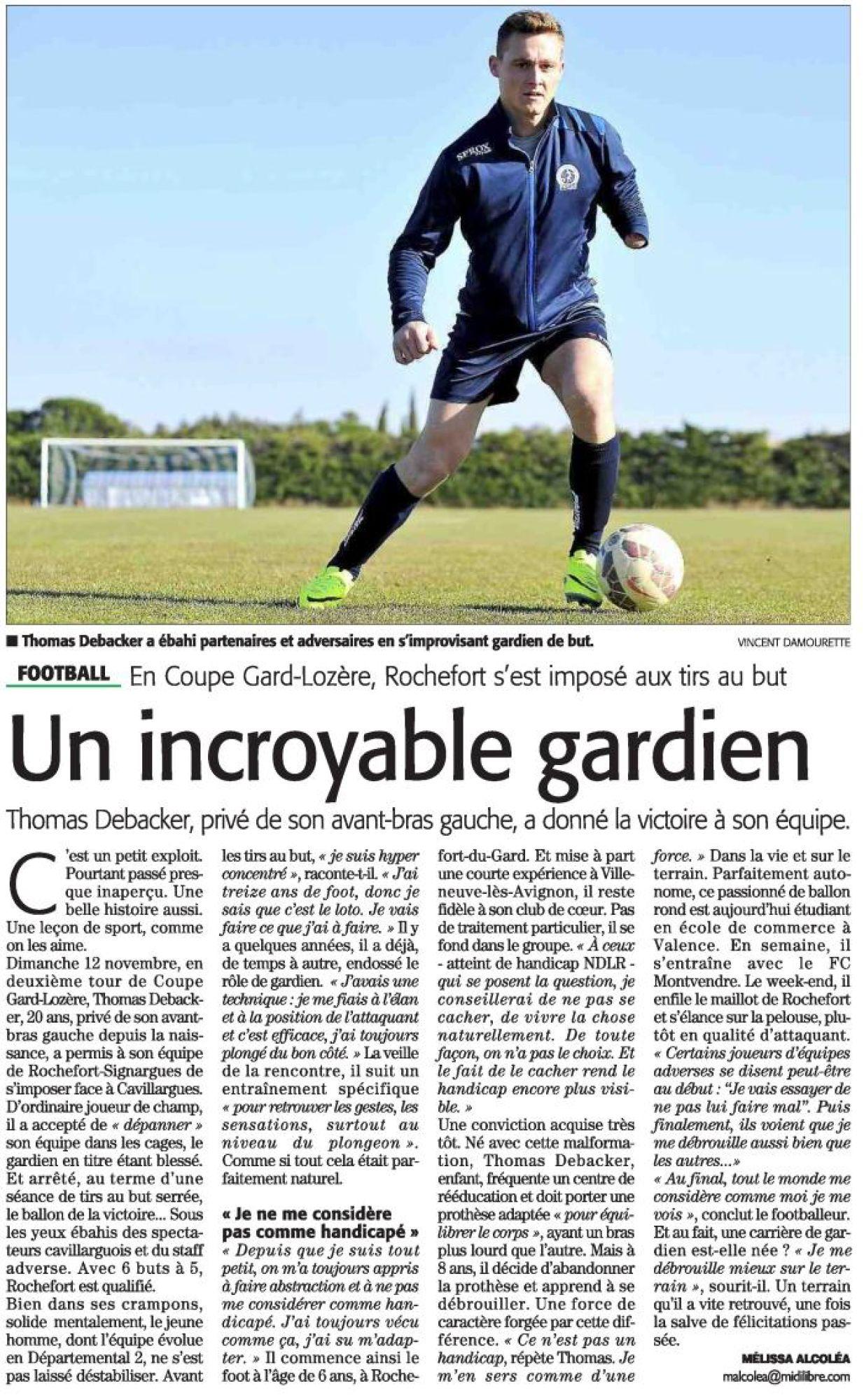 Edition midilibre du 27/11/2017