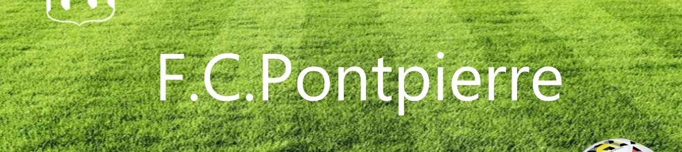 F.C.Pontpierre : site officiel du club de foot de  - footeo