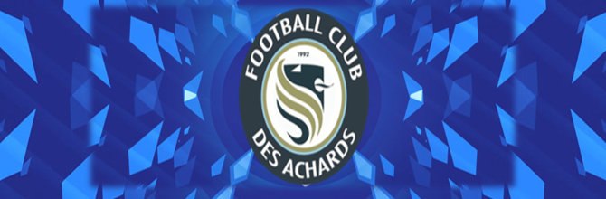 Site Internet officiel du club de football FOOTBALL CLUB DES ACHARDS
