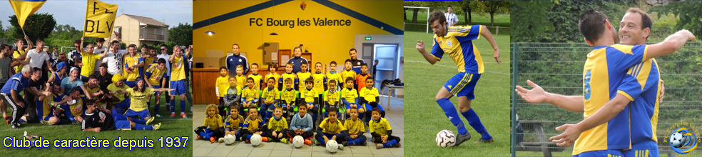 Football Club de Bourg-Lès-Valence : site officiel du club de foot de BOURG LES VALENCE - footeo