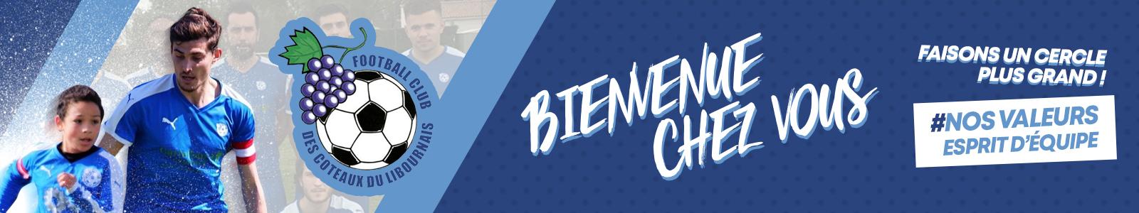 Football Club des coteaux du Libournais : site officiel du club de foot de ARVEYRES - footeo
