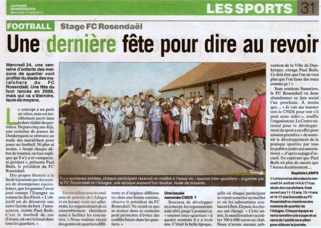 ARTICLE DU PHARE