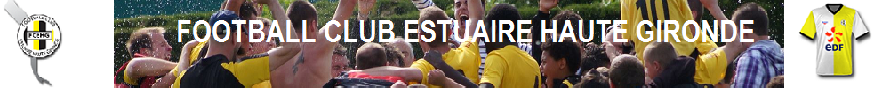 Football Club Estuaire Haute Gironde : site officiel du club de foot de BRAUD ET ST LOUIS - footeo