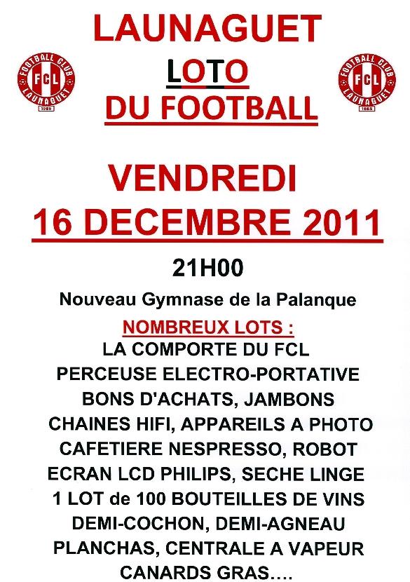 Affiche Loto Dec 2011