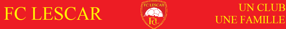 Site Internet officiel du club de football FC Lescar