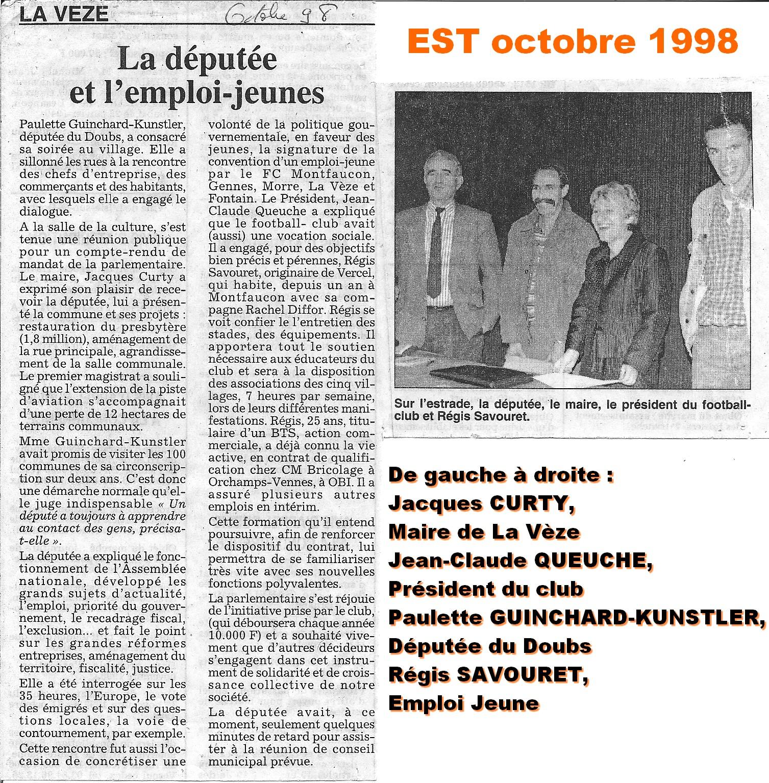 EST octobre 1998