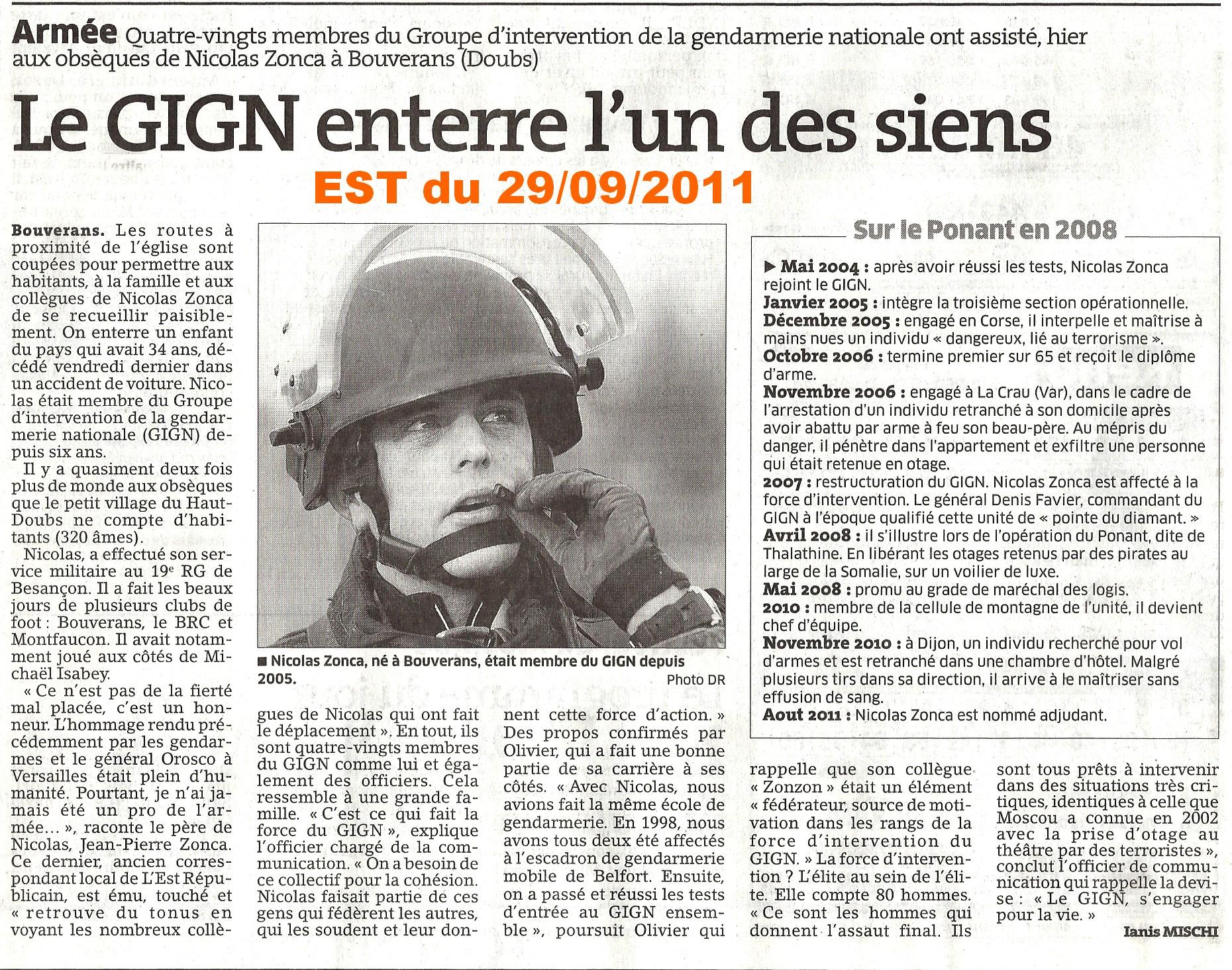 EST du 29/09/2011