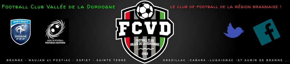 Site Internet officiel du club de football FOOTBALL CLUB VALLEE DE LA DORDOGNE