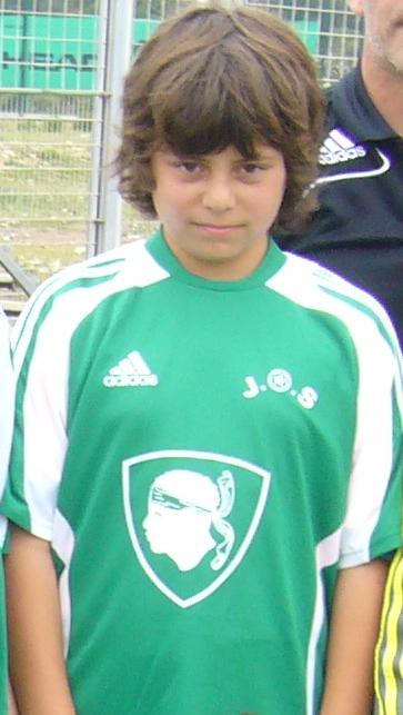 maillot du club avec LUDO LEANDRI