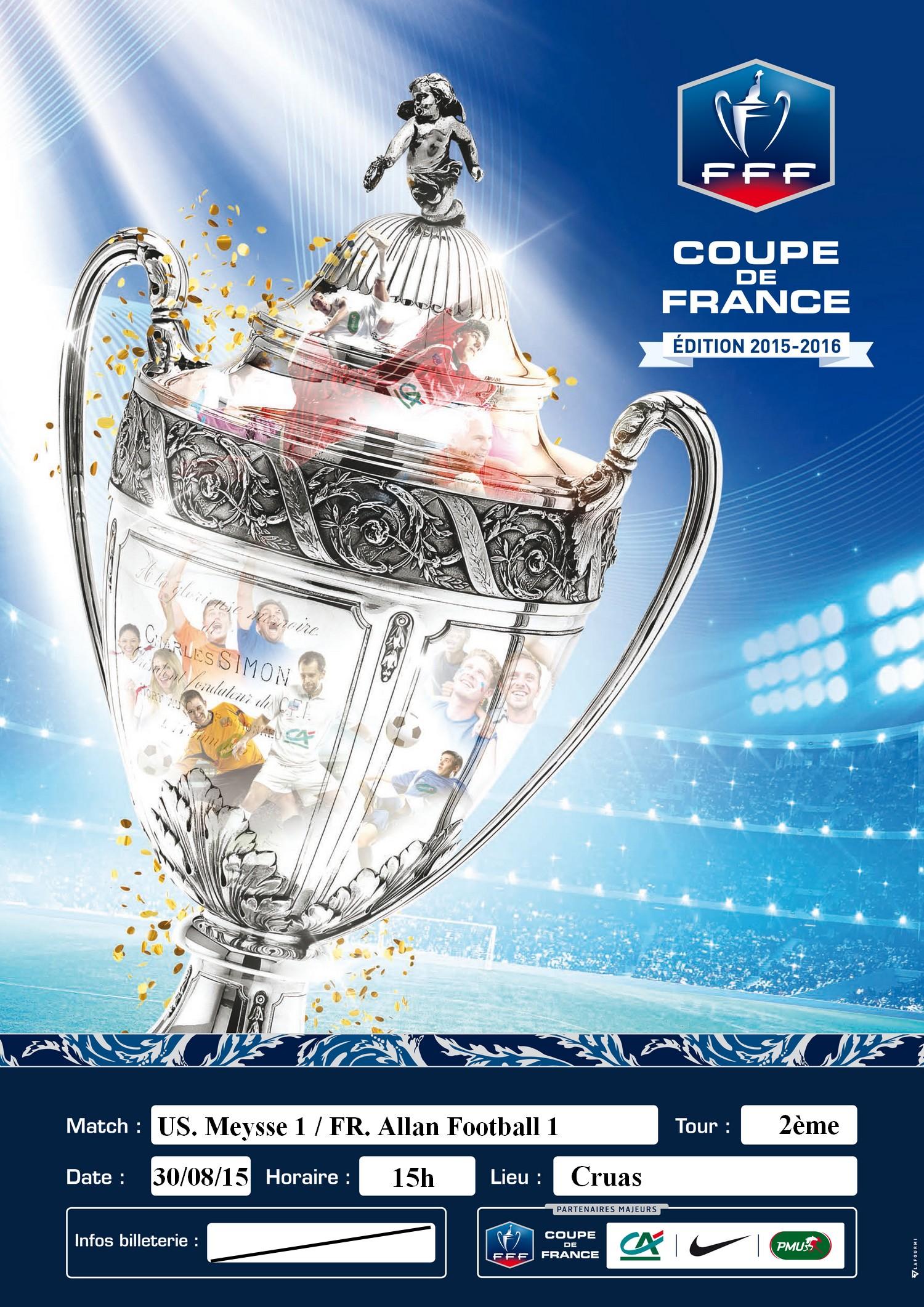 Agenda 2 me tour de la coupe de france club football - Resultats coupe de france football 2015 ...