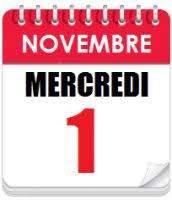 On joue ce Mercredi 1 Novembre (Férié) !!!