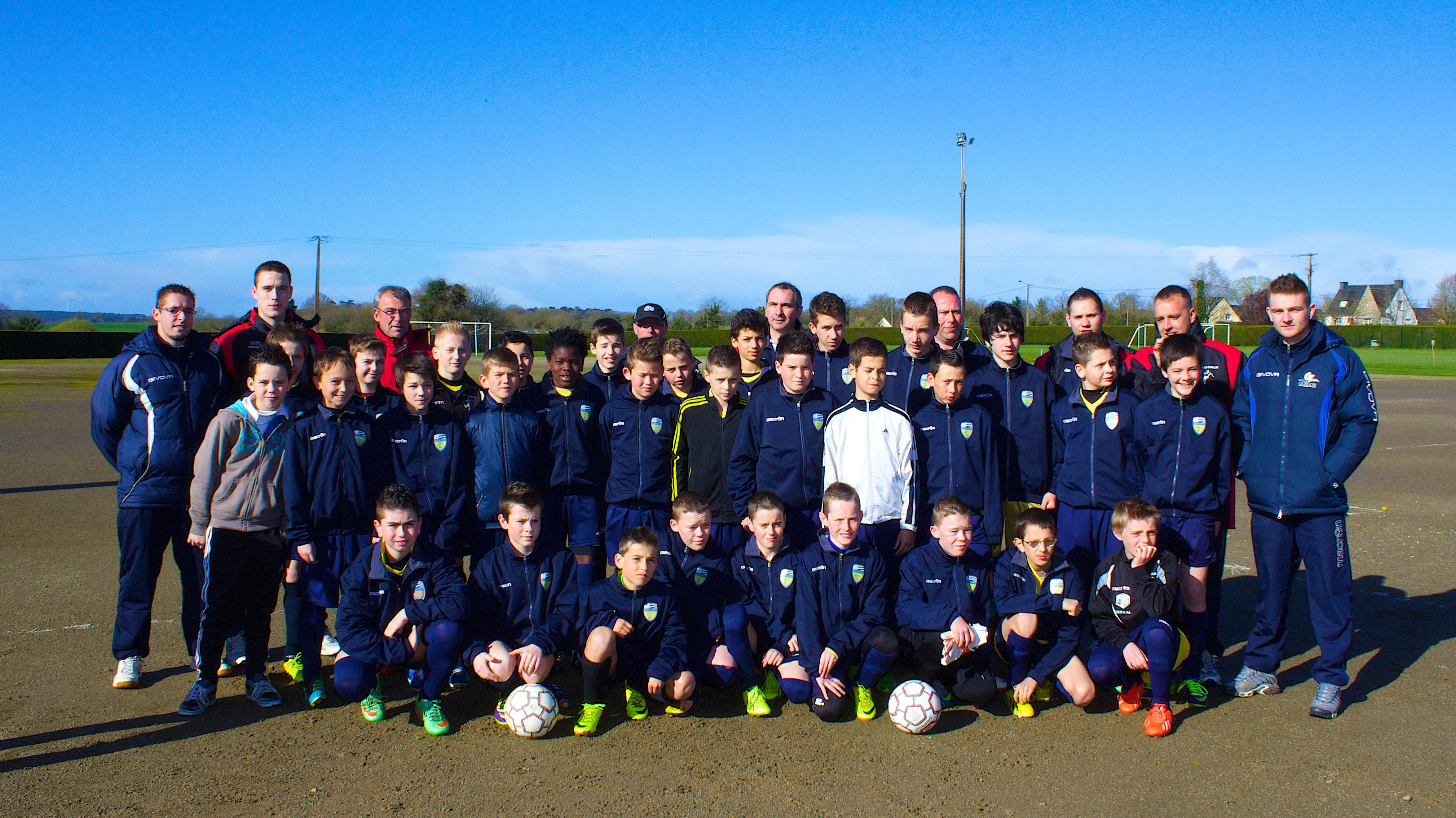 Groupe U13 du Groupement des Jeunes du Pays de Josselin - saison de football 2013/2014