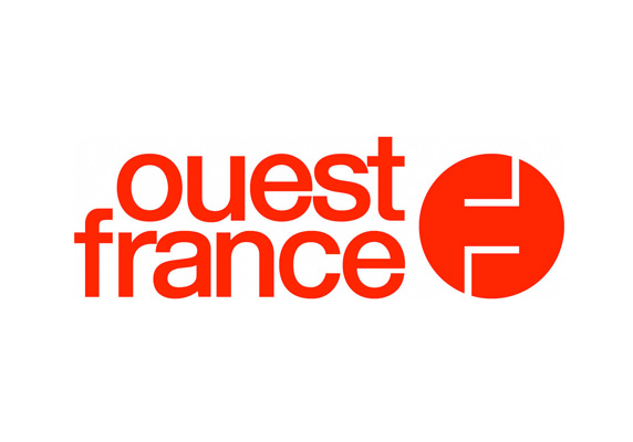 Logo officiel du journal papier quotidien OUEST-FRANCE