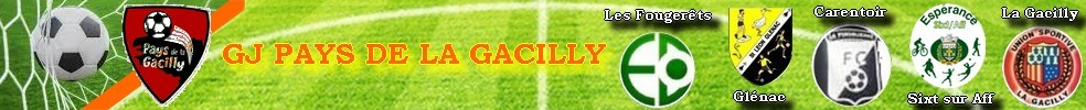 Groupement des jeunes du PAYS DE LA GACILLY : site officiel du club de foot de LA GACILLY - footeo