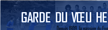 Site Internet officiel du club de football GARDE DU VOEU HENNEBONT FOOT