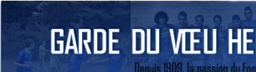 Site Internet officiel du club de football GARDE DU VOEU HENNEBONT FOOT