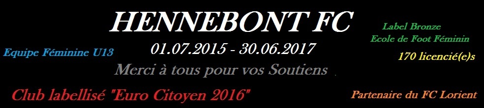 (gj) Hennebont Football Club : site officiel du club de foot de HENNEBONT - footeo