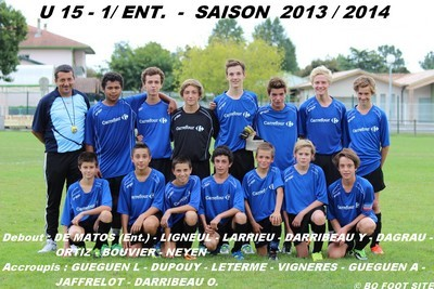 U15-1-FC Born entente