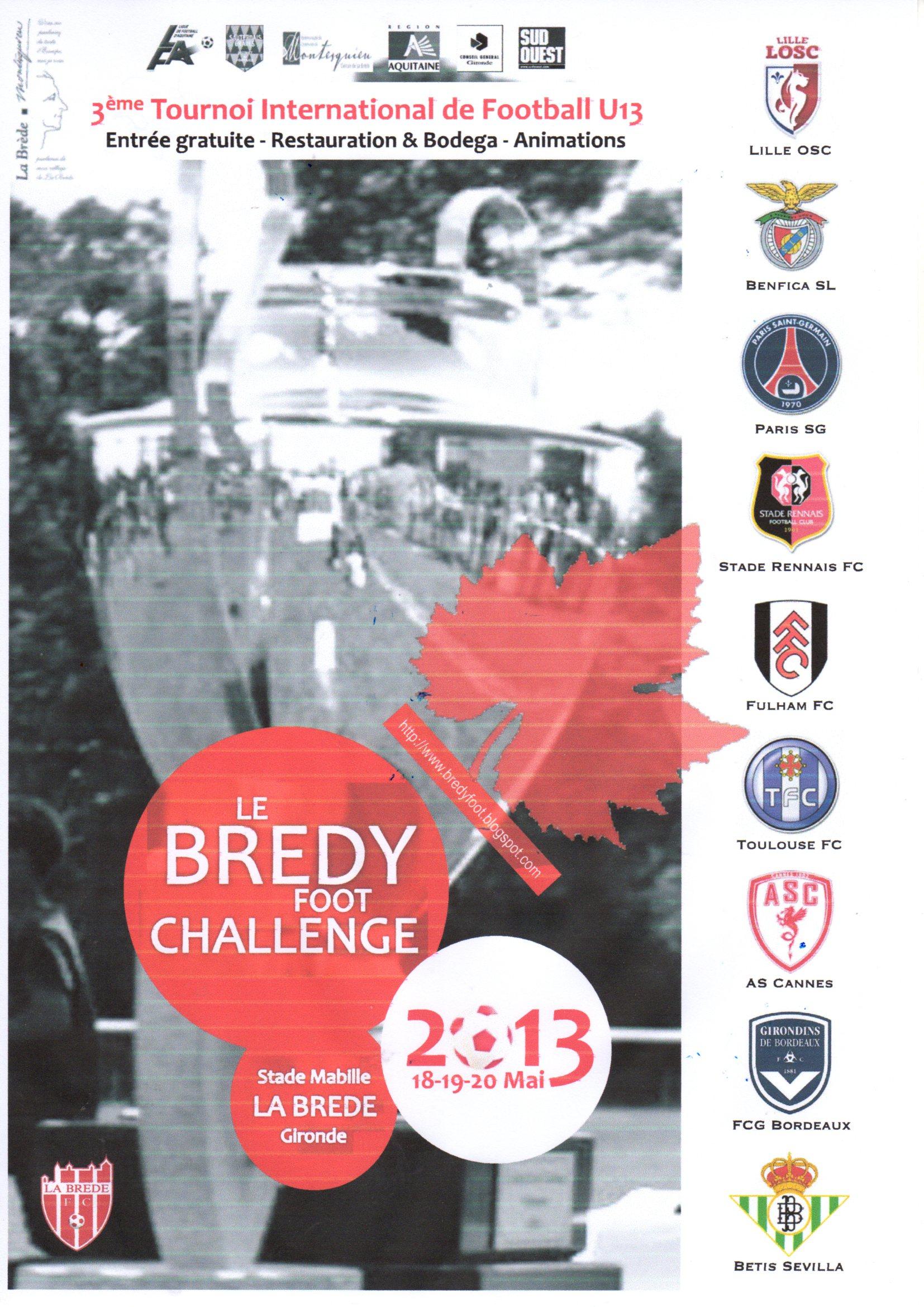 Cfa Girondins : Bilan du tournoi U13 de la Brède - Formation Girondins
