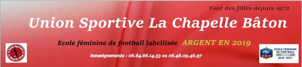 Union Sportive La Chapelle Bâton : site officiel du club de foot de LA CHAPELLE BATON - footeo