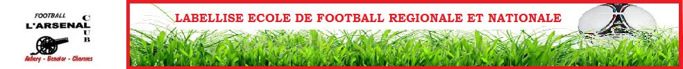 Site Internet officiel du club de football L'ARSENAL CLUB ACHERY-BEAUTOR-CHARMES