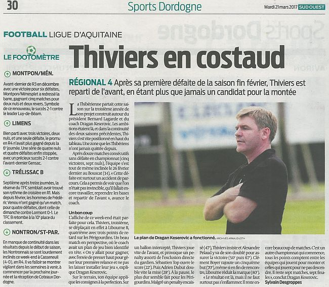 THIVIERS EN COSTAUD
