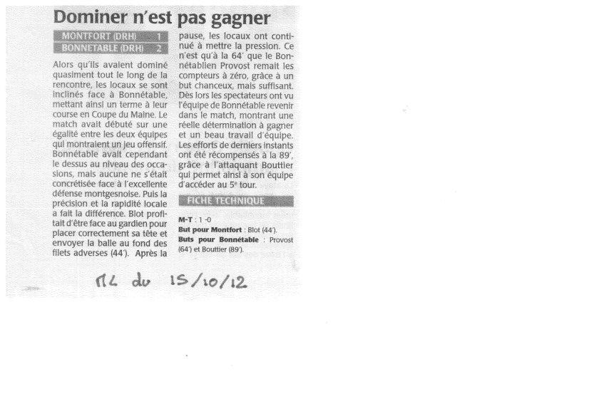 ML du 15/12/2012