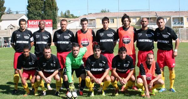Equipe ESPP contre Portiragnes