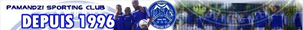 Site Internet officiel du club de football PAMANDZI SPORTING CLUB