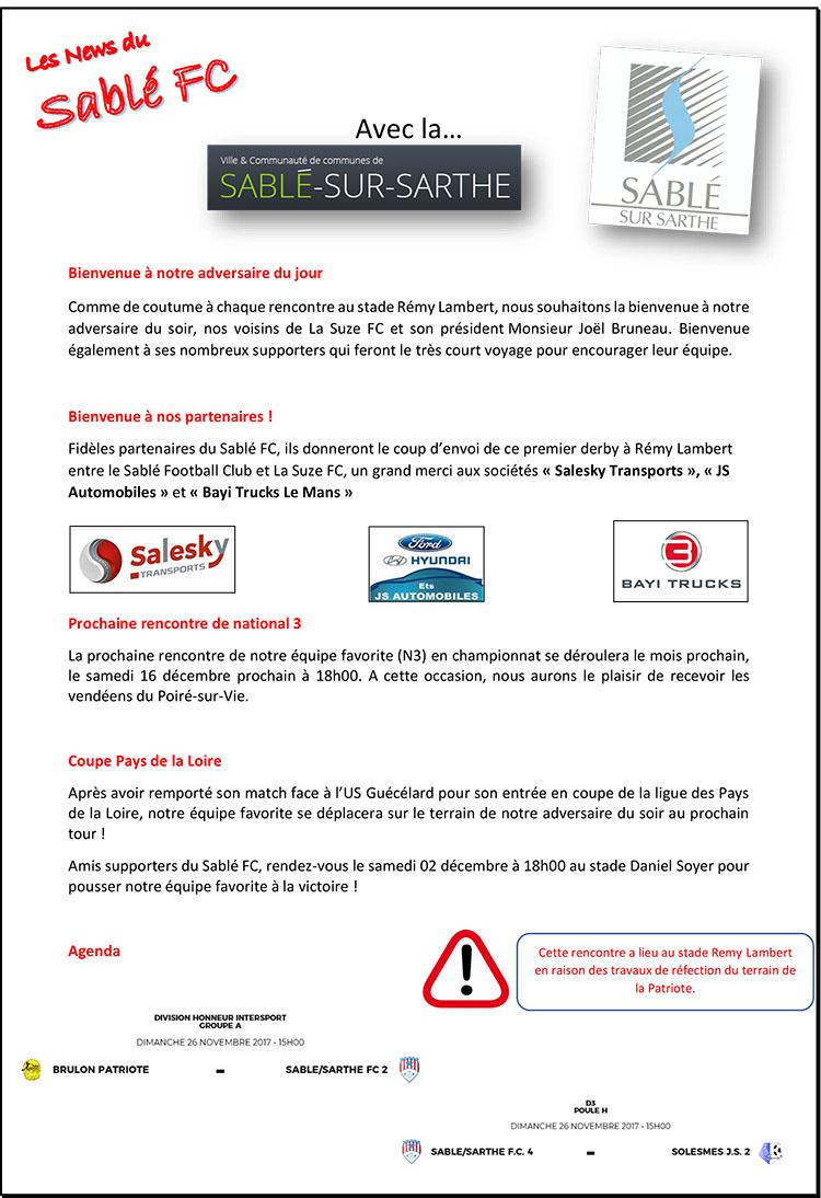 Programme Sablé FC - La Suze P 2.jpg