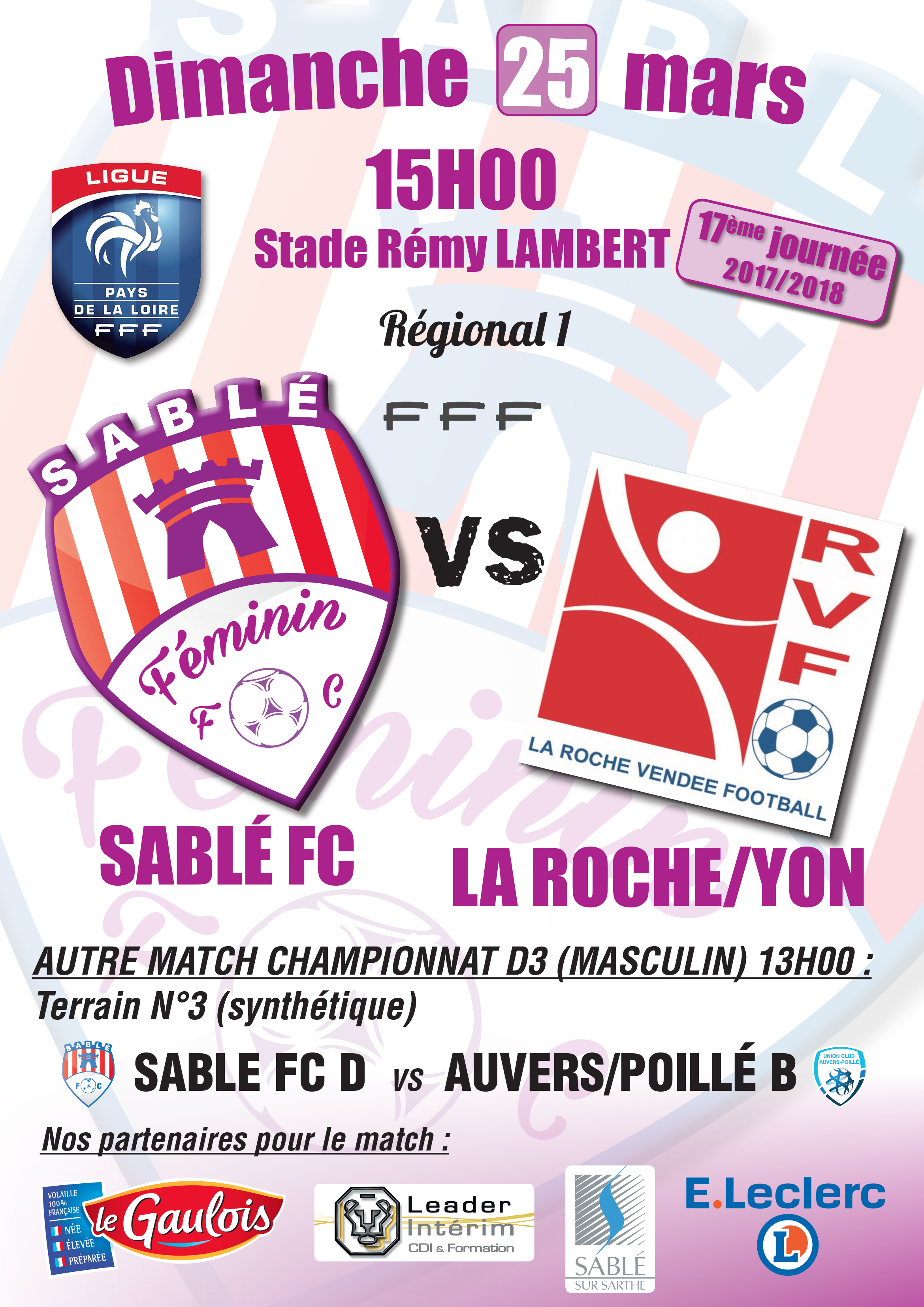 Affiche Sable FC VS La Roche sur Yon.jpg