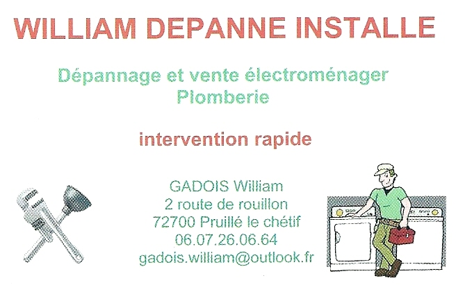 William Depanne Installe
