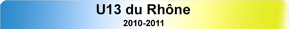 U13 du Rhône : site officiel du club de foot de LYON - footeo