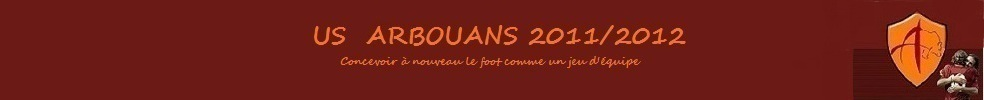 US ARBOUANS : site officiel du club de foot de ARBOUANS - footeo