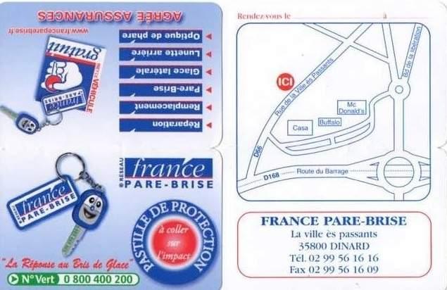 FRANCE PARE -BRISE