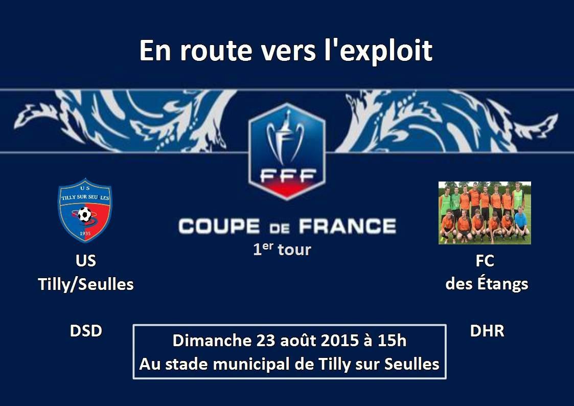 Actualit 1er tour de la coupe de france club football u s tilly sur seulles footeo - Coupe de france 1er tour ...