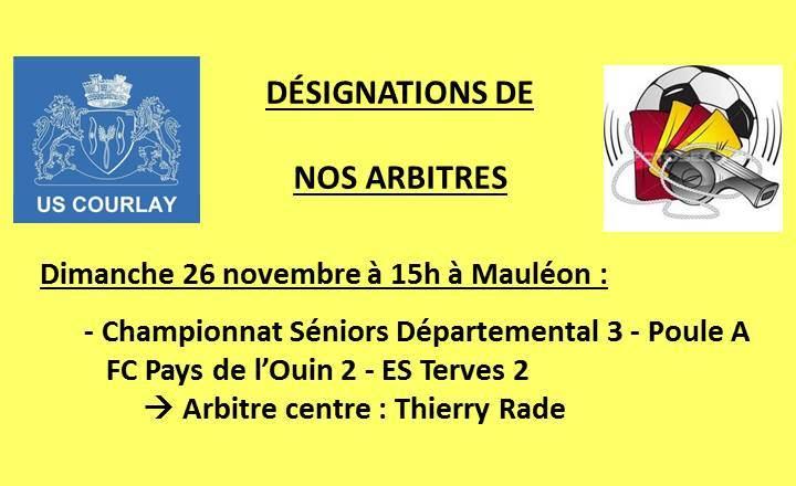 2017_11_23 Désignations_de_nos_arbitres