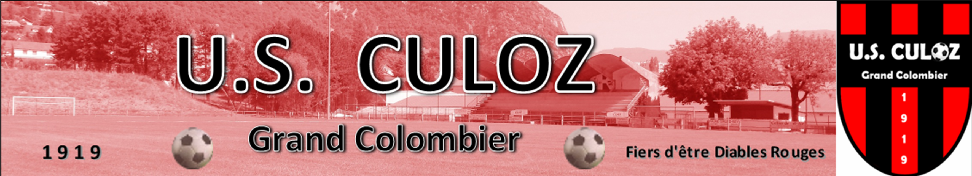 Culoz Grand Colombier Football : site officiel du club de foot de CULOZ - footeo