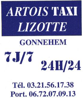 Artois taxi lizotte