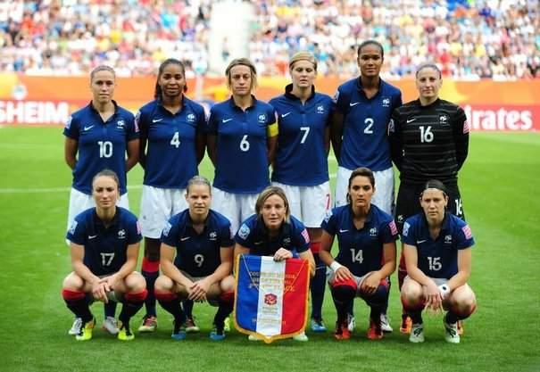 Equipe de france de foot feminine