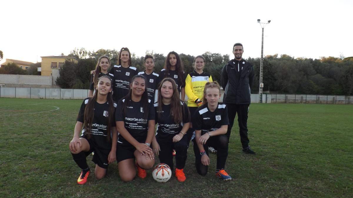 Équipe féminine U14- U15