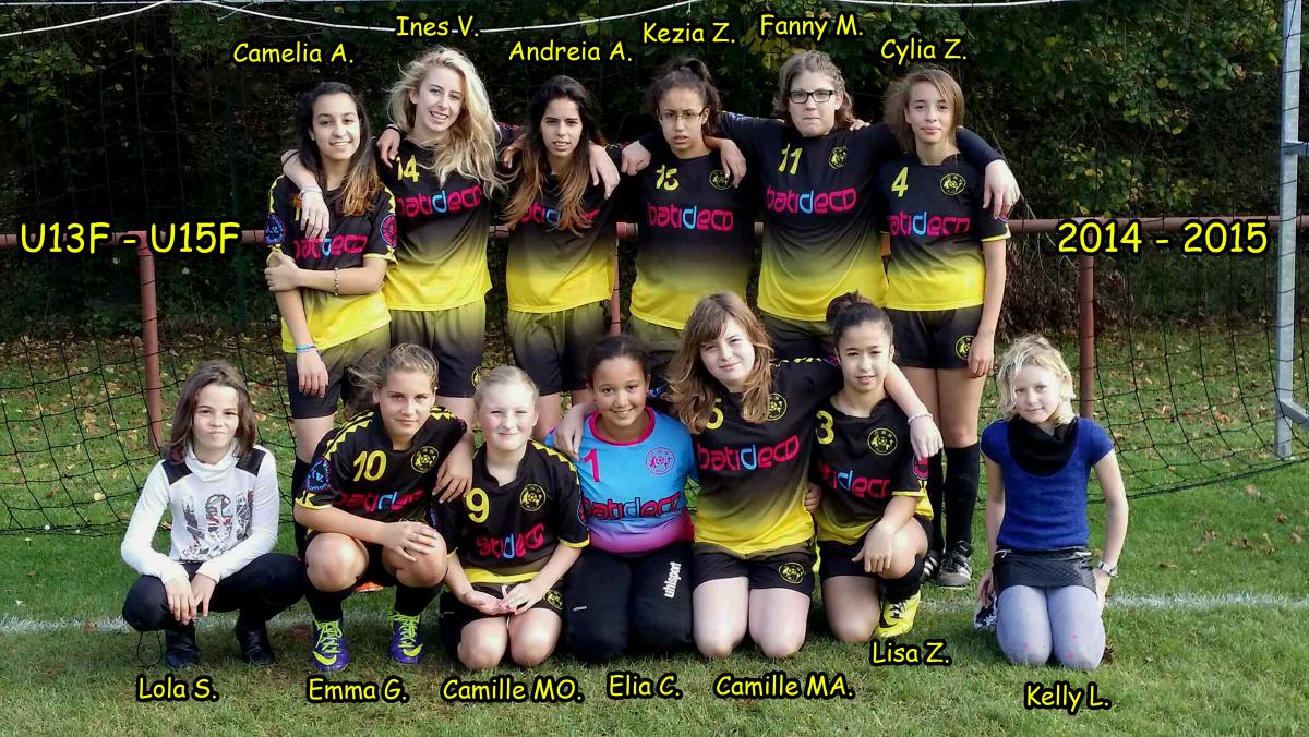 CS Saulnes Féminine U13/U15 F