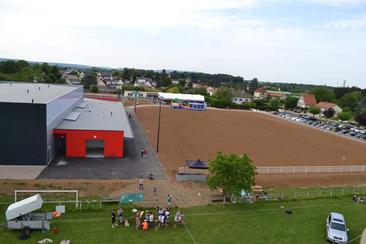 Inauguration plateau sportif