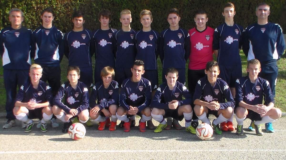 FAVIA AS Rhodanienne - Equipe 2001