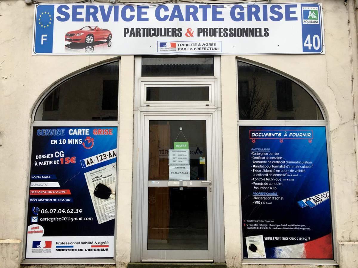 Actualite Nouveau A Dax Service Carte Grise Pour Club