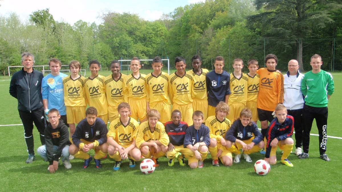 SELECTION DE L' INDRE U 15 ( 36 )