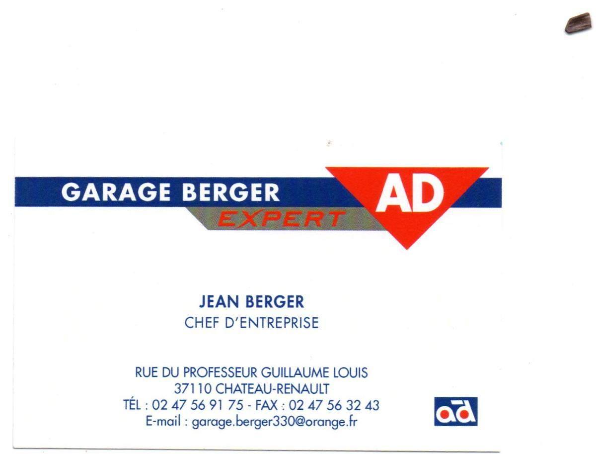 Garage Berger Chateau Renault