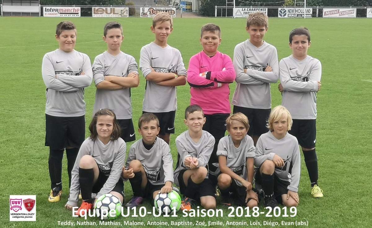 U11 VERGENTON-LOUZY